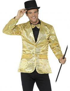 Kostym med gyllene paljetter - Lyxiga maskeradkläder för vuxna 5c13395c6907d