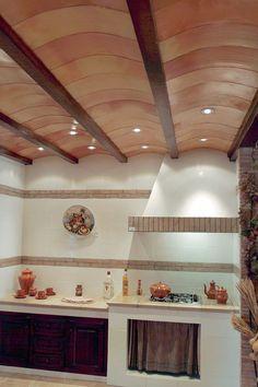 BOVEDILLA CURVADA - TEJAR BANDRÍS Timber Ceiling, Pop Art Design, Vaulting, Reggio, Ideas Para, Track Lighting, Construction, Ceiling Lights, Ceilings