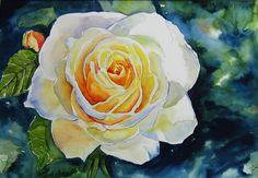 Yellow rose - Julie Martin