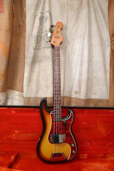 This Fender P-Bass was made in the USA in 1965.  It is all original and in nice shape.  It has been pro-setup and needs nothing.  It comes with the original case.