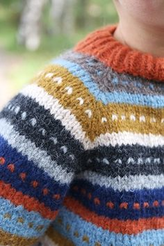 Pickles - Loppisgenser - Strikkeoppskrift og garnpakker Knitting For Kids, Baby Knitting, Knitting Designs, Knitted Hats, Men Sweater, Stripes, Babies, Fashion Outfits, Children