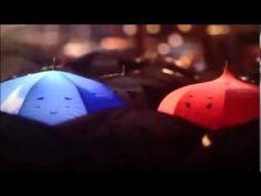 The Blue Umbrella- A Pixar short film featured before The Monster University. Greene Blue and Red lol Pixar Shorts, Disney Shorts, Literary Elements, Story Elements, Marida Brave, Cgi, Principles Of Animation, Movie Talk, Blue Umbrella