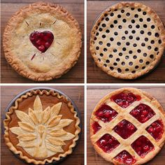 """You don't have to be a skilled pastry chef to master these pie crusts. In fact, these are pie crusts for the """"rest of us"""" - and all 8 of these are easy!"""