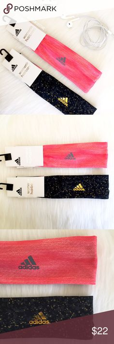 ⚡️FLASH SALE⚡️ Adidas Headband Bundle Keep your hair out of your eyes using these sporty design adidas headbands  • mesh lining • elastic gathered back • polyester & spandex • 0.25-in width   Ships within 24 hours    no holds  no trades ❤️ open to reasonable offers  bundle and save 10% on 3+ items Adidas Accessories Hair Accessories