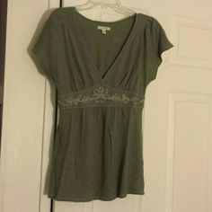 American Eagle Outfitters tunic top Green tunic top from American Eagle American Eagle Outfitters Tops Blouses