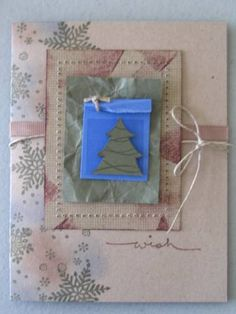 Distressed Christmas Card