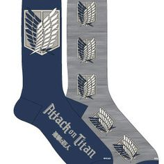 Attack on Titan Long Socks (2/pr) I like these more than the ones i currently have