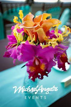 Destination wedding? Let MichaelAngelos Events style your bouquet!