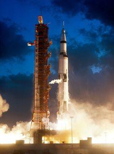 Cape Canaveral Florida November 9 1967 Apollo E Program Nasa