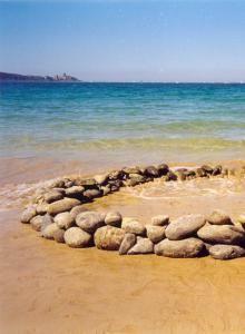 Keien van hbet strand- Bretagne
