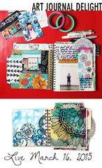 SALE! art journal delight online class