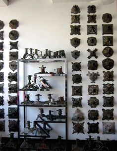 Christmas tree stand collection Pick a wall and display that collection!!