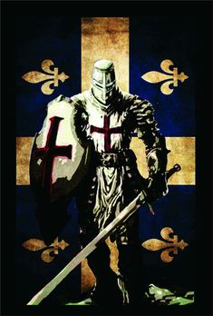 Discover Knight Templar Warrior Sweatshirt, a custom product made just for you by Teespring. - Beautiful and quality Knight Templar Warrior. Medieval Knight, Medieval Fantasy, Templar Knight Tattoo, Crusader Knight, Christian Warrior, Knight Art, Chivalry, Knights Templar, Dark Ages
