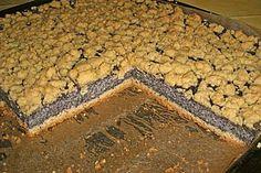 Mohn - Streuselkuchen