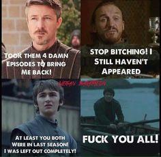 Poor Gendry!