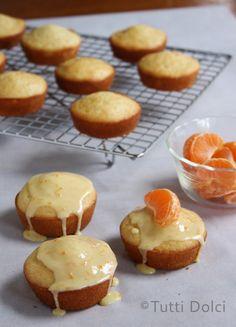 Tangerine Vanilla Tea Cakes @Laura | Tutti Dolci