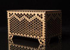 Honeycomb Keepsake box by OlyLaserCreations on Etsy