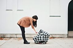 The OVer Company Multi-use Baby Cover Shopping Cart Cover, Baby Cover, Car Seats, Plaid, Cotton, Collection, Cart Cover, Tartan, Car Seat
