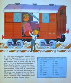 Train, illustration Alain Gree