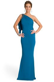 Decided to go with this one. Black tie preferred wedding in May. Renting it from www.renttherunway.com, anyone tried that before?