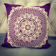 Doily Cushion covers