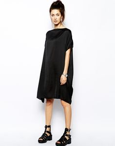 Cheap Monday Relaxed Dress at ASOS. Altered Couture, Cheap Monday, Amanda, Asos, High Neck Dress, Womens Fashion, Model, Survival Gear, How To Wear