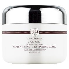 29 Right Off the Vine Replenishing & Restoring Mask - 4 oz Skin Care Treatments, Facial Treatment, Skin Elasticity, Make Me Up, Best Makeup Products, Beauty Products, Beauty Tips, Skin Makeup, Vines