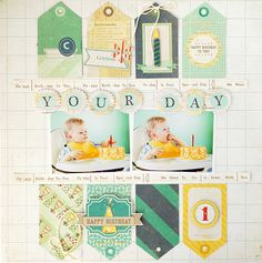 Valerie O'Neall: Scrapbooking Studio | Crate Paper's Party Day