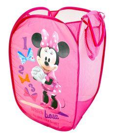 Look at this #zulilyfind! Minnie Mouse Collapsible Hamper by Minnie's Bow-Tique #zulilyfinds