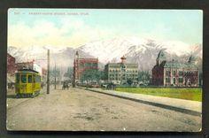 Ogden Twenty Fifth Street Tram Weber County Utah 1910