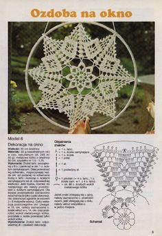 Risultati immagini per diagramme filet crochet Motif Mandala Crochet, Crochet Tree, Crochet Doily Patterns, Crochet Designs, Crochet Doilies, Crochet Curtain Pattern, Filet Crochet, Crochet Chart, Thread Crochet