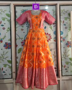 Indian Gowns Dresses, Indian Fashion Dresses, Dress Indian Style, Long Gown Dress, Long Frock, Long Gowns, Frock Patterns, Baby Girl Dress Patterns, Girls Frock Design