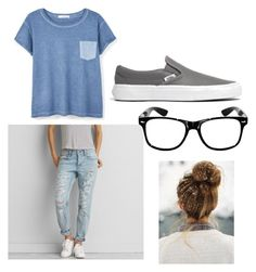 """""""School chic"""" by madelainepister on Polyvore featuring American Eagle Outfitters, MANGO, Madewell, women's clothing, women, female, woman, misses and juniors"""