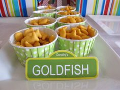 Goldfish as Party Food