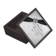 Damask 60th Wedding Anniversary Gift Box Premium Trinket Boxes