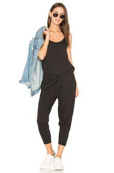 4ca618ec85 Bobi Supreme Jersey Sleeveless Jumpsuit in Black Revolve Clothing