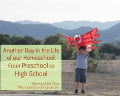 Day in the Life Homeschooling