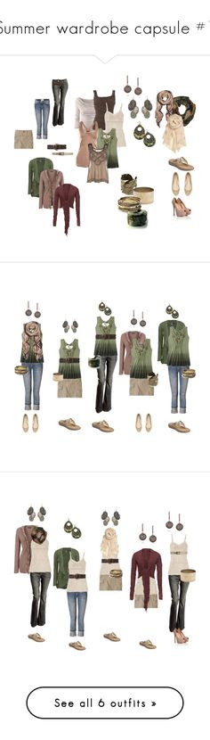 Summer wardrobe capsule #1 by numinadea on Polyvore featuring Uniqlo, H&M, Phase Eight, Top Secret Society, French Connection, Alva-Norge, Lauren Ralph Lauren, Missoni, Annette Ferdinandsen and Tt Collection