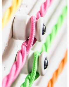 Ceramic Cable Holders Single, Five and Ten Pack