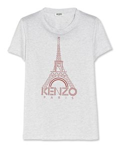 It's Bastille Day! 12 French-Inspired Picks To Help You Celebrate - Kenzo Eiffel tower tee from InStyle.com