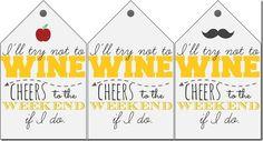 Free Wine Gift Tag Printables