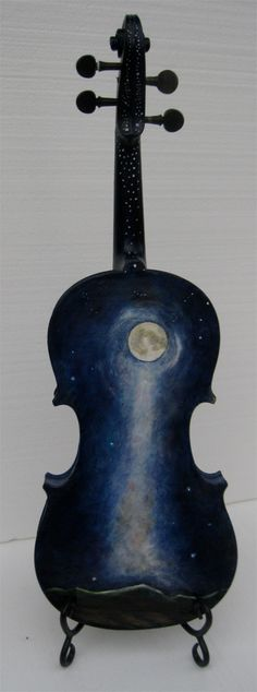 urbanpastures: A Painted Violin For The Helena Symphony