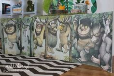 where the wild things are party banner 14