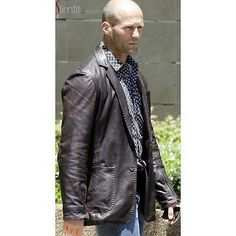 FAST AND FURIOUS 7 IAN SHAW COAT Replica high quality 100% Real Leather Jackets
