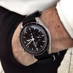 Omega Speedmaster Professional on NATO strap.