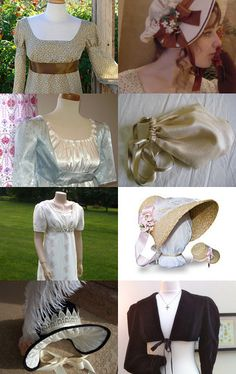 Jane Austen Costume Ideas --Pinned with TreasuryPin.com