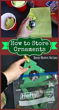 The holidays will soon be over, so how can we keep our decor safe & sound until next year? Here's a handful of tips on How to Store Ornaments with Hefty! Christmas Ornament Storage, Holiday Storage, Christmas Holidays, Christmas Crafts, Christmas Things, Christmas Ideas, Family Night, Halloween, Getting Organized