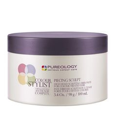Pureology Piecing Sculpt Use this paste-textured wax to create sculpted waves, piecey styles, or a sleek look. Formulated with vitamins C and E and orange oil. $24, pureology.com for stores.