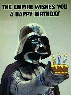 Darth Vader happy birthday