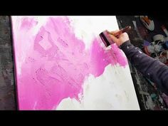 Abstract Painting | Simple and Colorful | Acrylics | Acid Hologram - YouTube